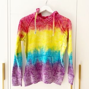 Tie-Dye hoodie - cozy and on trend!